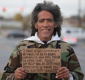 Ted Williams, el homeless con la voz de oro