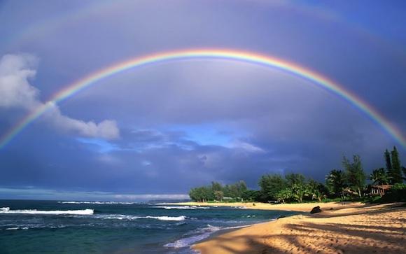 Tormentas y arcoiris