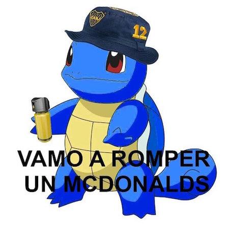 Vamo a romper un McDonalds (bostero)
