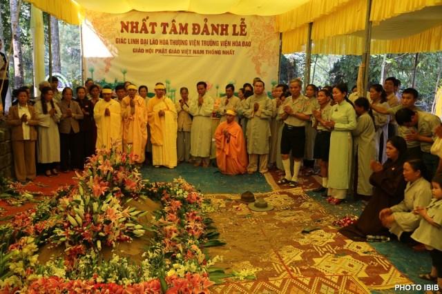 Nấm mồ khiêm cung của bậc cao tăng — Đại lão Hoà thượng Thích Như Đạt, Viện trưởng Viện Hoá Đạo Giáo hội Phật giáo Việt Nam Thống nhất