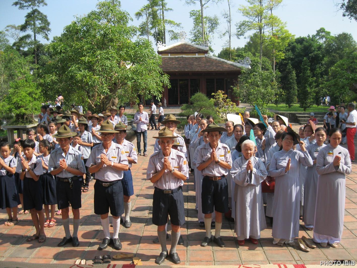 Phái đoàn Gia Đình Phật tử Thừa thiên – Huế