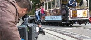 Filming in San Francisco
