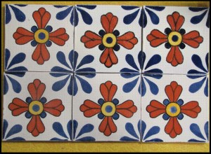 Colorful Mexican Tiles