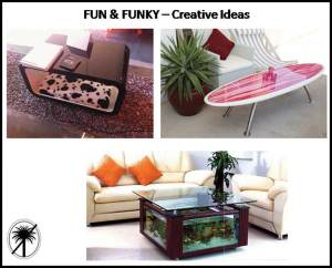 Fun & funky coffee tables