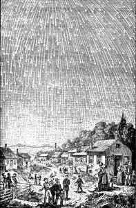 Meteor shower in Alabama 1833
