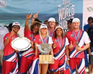 Los numero uno del Mundo! federacion de Surf de Costa Rica