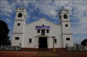 Colonial church in Antón