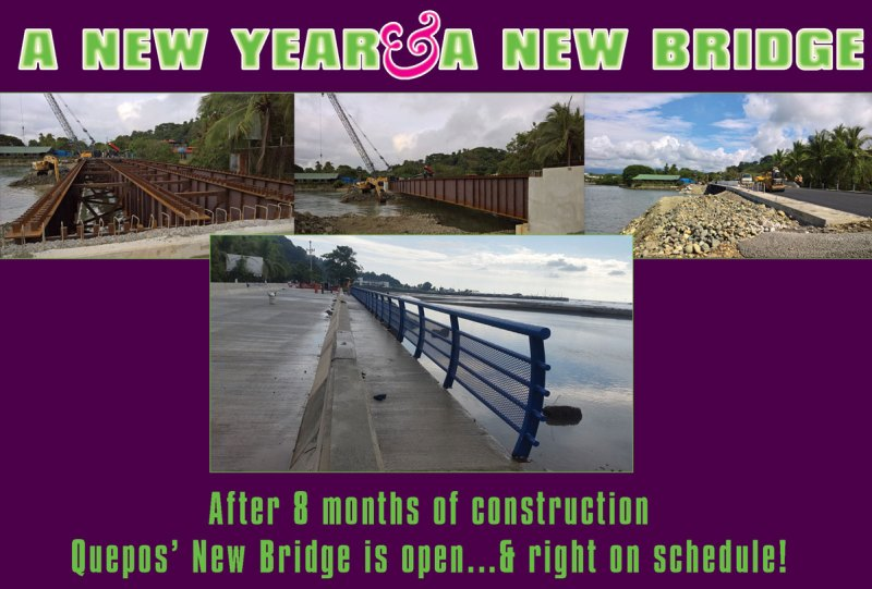 The new Quepos bridge
