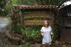 Lexi at Kids Saving the Rainforest