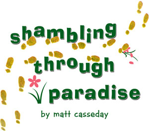 Shambling through paradise header