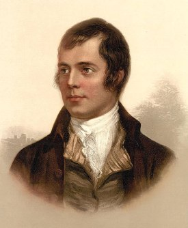 Portrait of Robert Burns