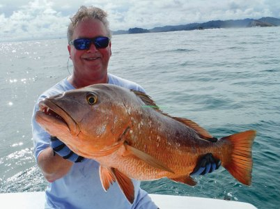 Man with grouper