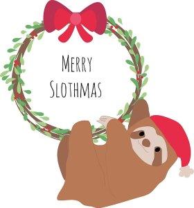 Merry Slothmas!