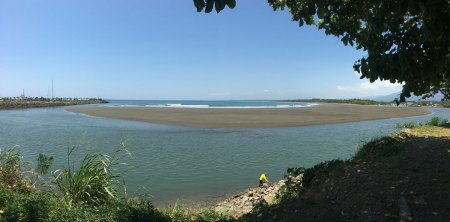 Quepos river mouth