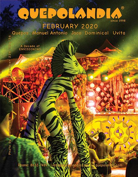 Quepolandia February 2020 cover