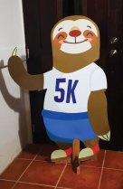 Sloth mascot