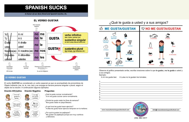 Spanish Sucks lesson