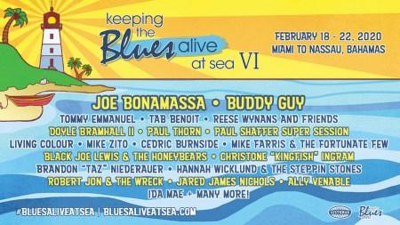Blues Cruise ad