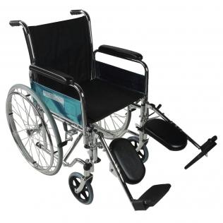fauteuil roulant pliable accoudoirs et repose pieds amovibles orthopedique partenon mobiclinic
