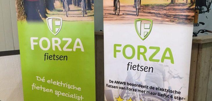 Roll-up banners Forza Fietsen Nunspeet