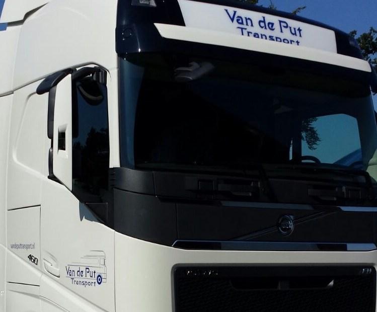 Autobelettering Van De Put Transport