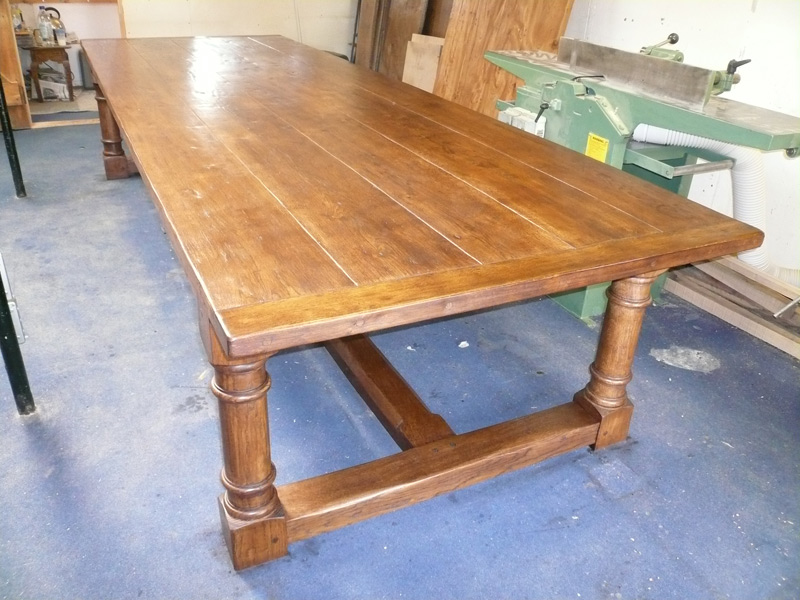 Bespoke Oak Refectory Dining Table
