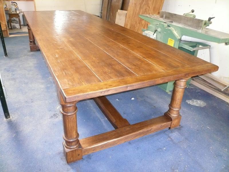 Bespoke Oak Refectory Dining Table