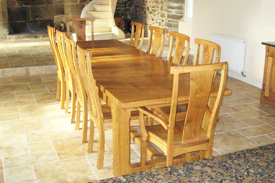 Farmhouse Refectory Table