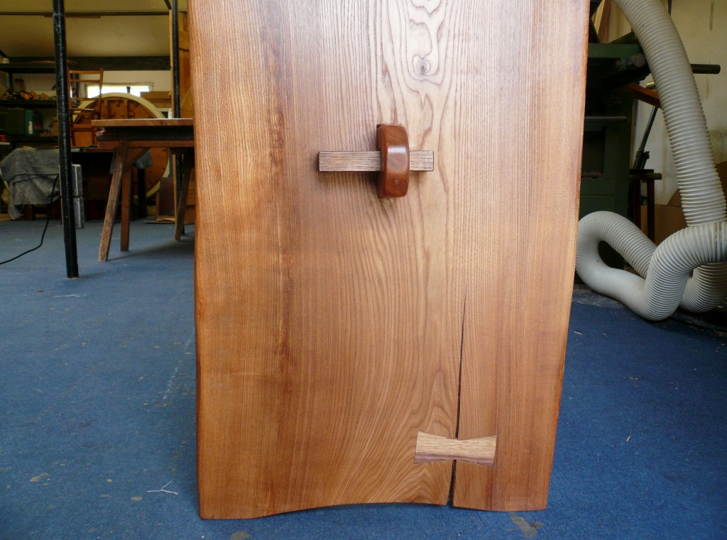 Waney Edge Handmade Oak Table