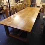 Large Handmade Oak Refectory Table (1024x768)
