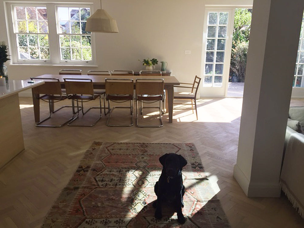 Oak Bespoke Handmade Dining Table