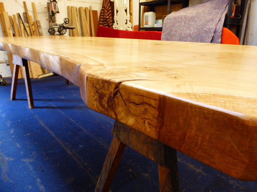 Waney Edge Table Top