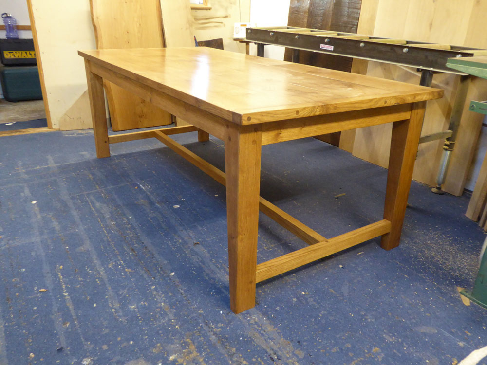 Oak Handmade Dining Table