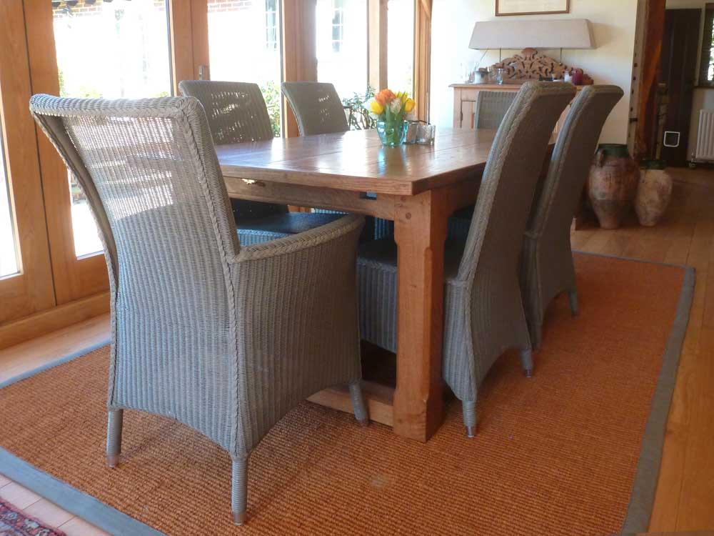 Bespoke Extending Refectory Table
