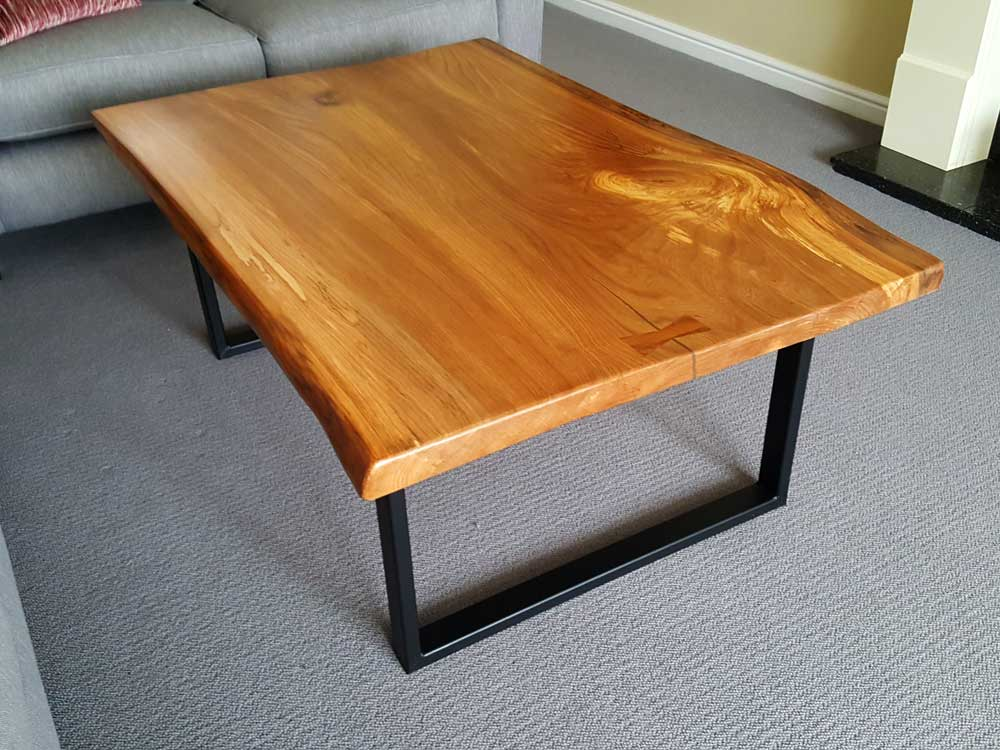 Bespoke Waney Edge Coffee Table