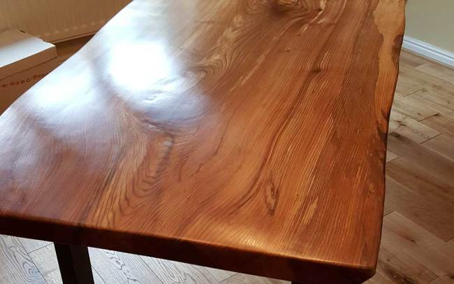 Bespoke Waney Edge Slab Table Top