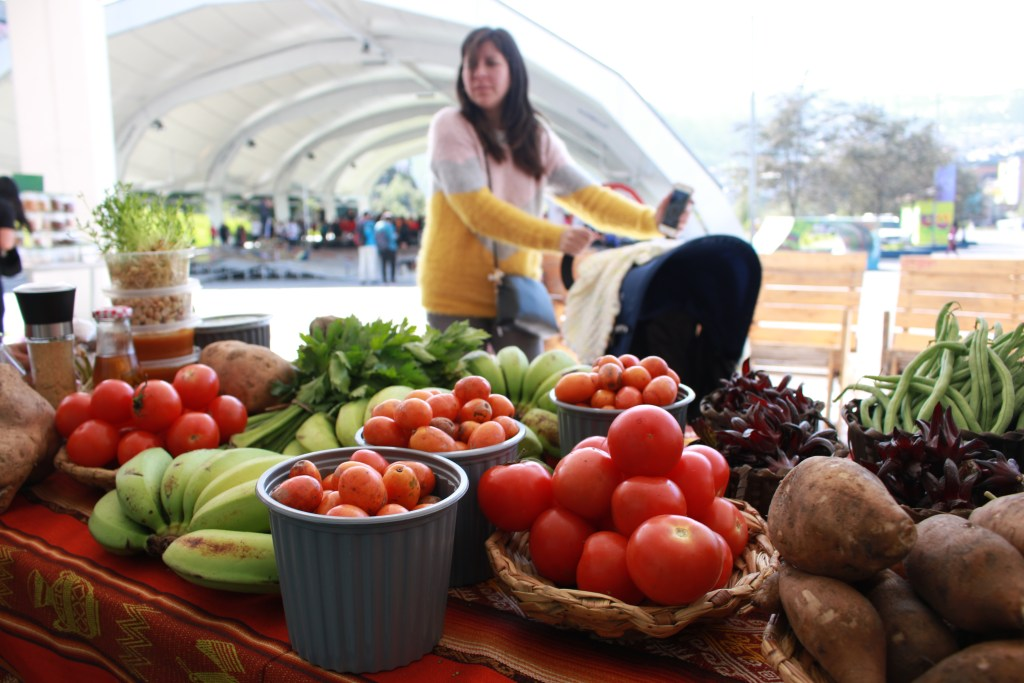 Mercado de la Tierra en el Cumanda
