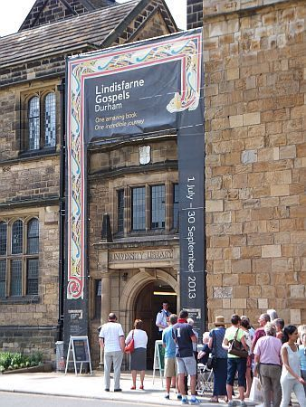 Lindisfarne Gospels Exhibition