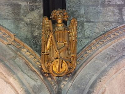 Roof Angel, Abbey Church