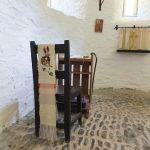 Prayer stool in Melangell apse