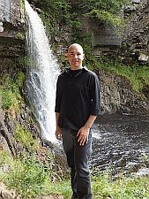 Andrew at Ingleton 2013