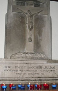 image of Mother Julian's shrine