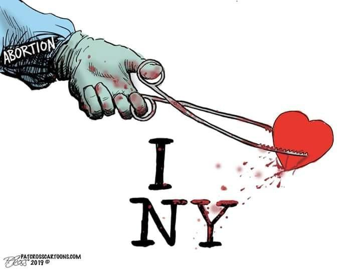 Abortion decision in New York permits the destruction of the child through all 9 months of pregnancy.