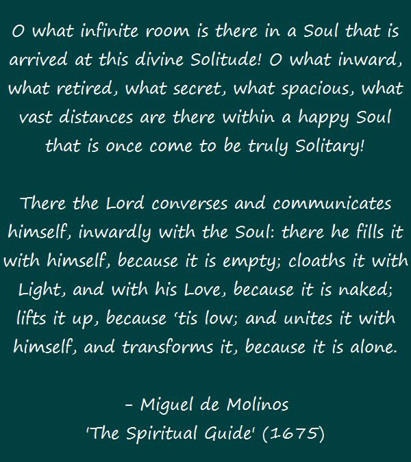 Miguel de Molinos - Solitude