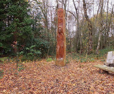 Sculpture in Autumn