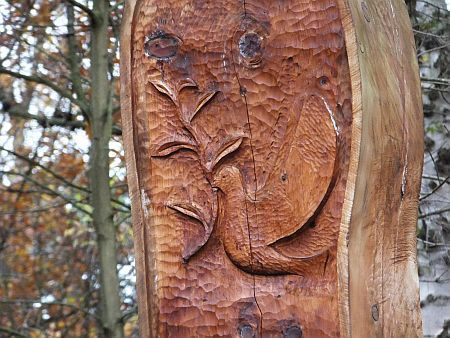 Shepherds Dene sculpture detail