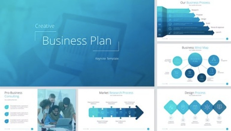 business-plan-keynote-template