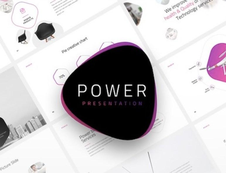 power-minim-keynote-template
