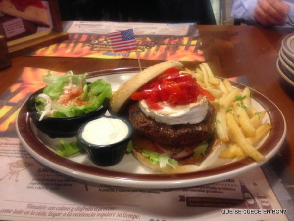 Sweet Pepper Burger