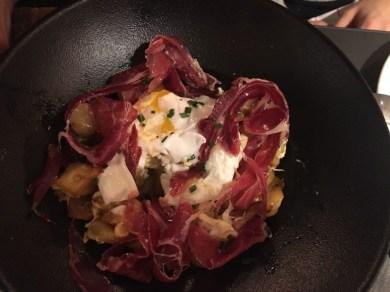 huevos-jamon restaurante maria parrilla que se cuece en bcn planes barcelona